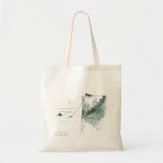 Fishing off the Quay Budget Tote Bag
