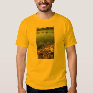 Fishing on a Mill Pond T-shirt