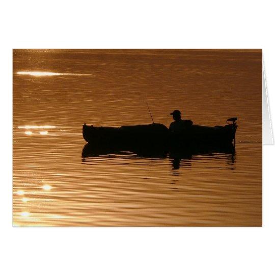 Fishing on Lake Dora Card