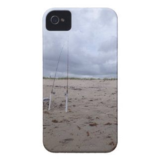 Fishing On The Beach iPhone 4 Cover