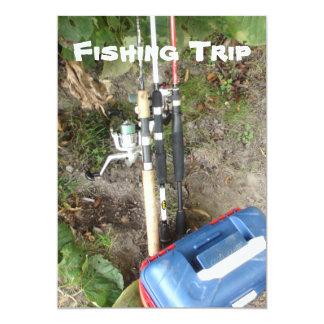 Fishing or Camping Trip Invitations