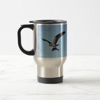 Fishing Osprey & Walleye 3 Wildlife Photo Mug