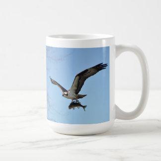 Fishing Osprey & Walleye 3 Wildlife Photo Mugs