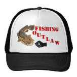 FISHING OUTLAW MESH HAT