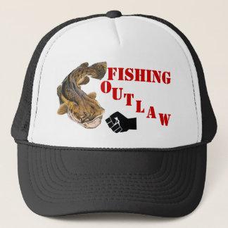 FISHING OUTLAW TRUCKER HAT