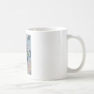 fishing over the object coffee mug