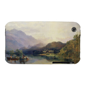 Fishing Party at Loch Achray, with a View of Ben V iPhone 3 Cover