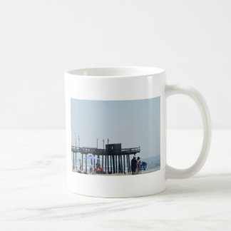 fishing peer classic white coffee mug