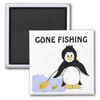 Fishing Penguin Magnet
