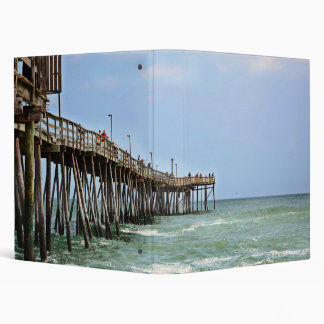 Fishing Pier by Shirley Taylor 3 Ring Binder