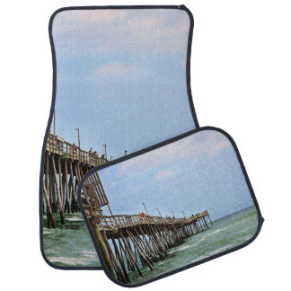 Fishing Pier by Shirley Taylor Car Mat