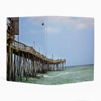 Fishing Pier by Shirley Taylor Mini Binder
