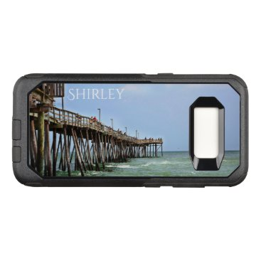 Beach Themed Fishing Pier by Shirley Taylor OtterBox Commuter Samsung Galaxy S8 Case