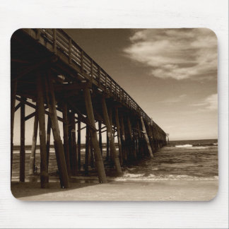 Fishing Pier Mouse Pad