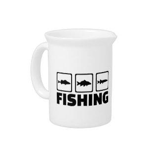 Fishing Pitcher