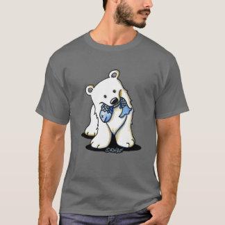 Fishing Polar Bear Dark T-Shirt