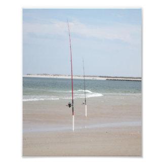 fishing pole art photo