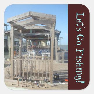 Fishing Poles  Sticker