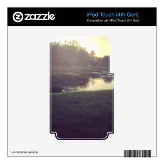 Fishing Pond iPod Touch 4G Decals