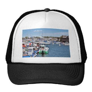 Fishing port of Concarneau in France Trucker Hat