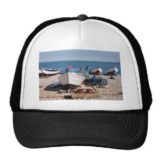 Fishing port of Yport in France Trucker Hat