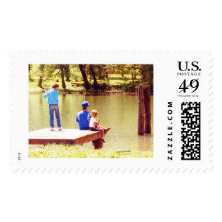 fishing postage