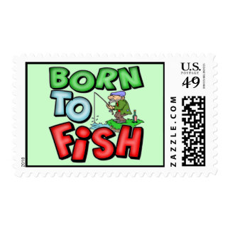 Fishing Postage Stamps