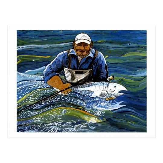 Fishing Postcard