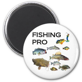 Fishing Pro 2 Inch Round Magnet