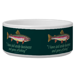 Fishing Quote Bowl