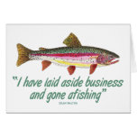 Fishing Quote Greeting Cards