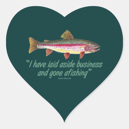 Fishing Quote Sticker