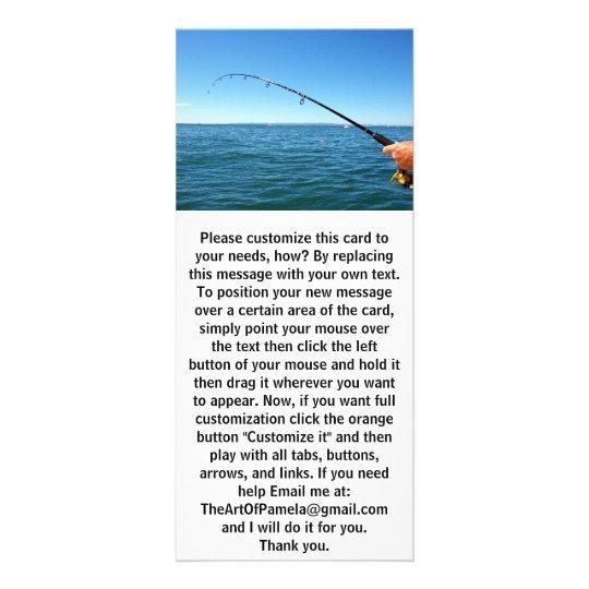 Fishing Rack Card