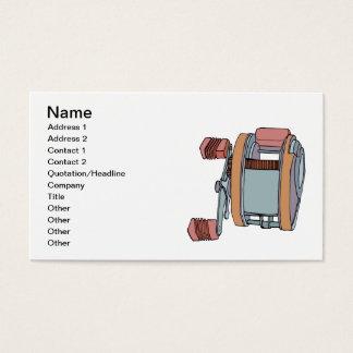 Fishing Reel Business Card