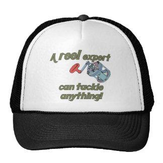 Fishing Reel Expert Trucker Hat