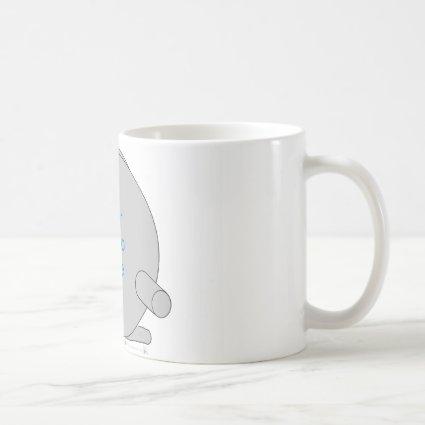Fishing Reel Frame Template Classic White Coffee Mug