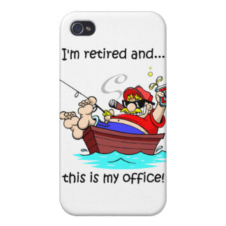 fishing retirement iPhone 4/4S covers
