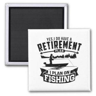 Fishing Retirement Magnet