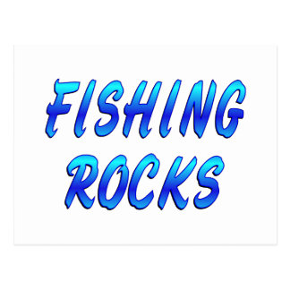FISHING ROCKS POSTCARD