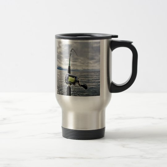 Fishing Rod Steel Mug