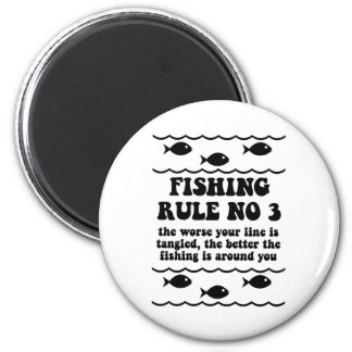 Fishing Rule No 3 Magnet