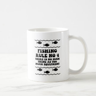 Fishing Rule No 4 Coffee Mug