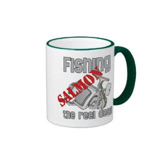 Fishing Salmon The Reel Deal Fishing Shirt Mugs