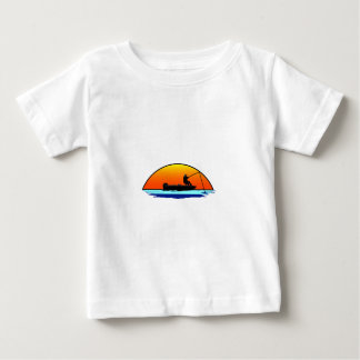 Fishing Scene Baby T-Shirt