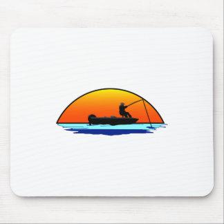 Fishing Scene Mouse Pad