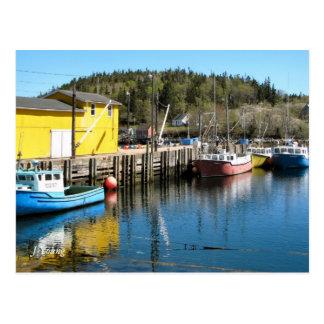 Fishing Scene Postcard