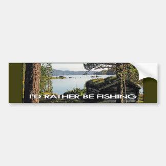 Fishing Shack Bumper Sticker