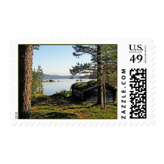 Fishing Shack Postage