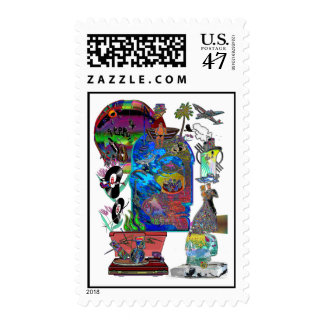Fishing Shark Infested Waters c Postage
