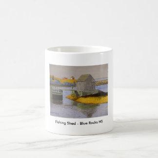 Fishing Shed - Blue Rocks NS Coffee Mug